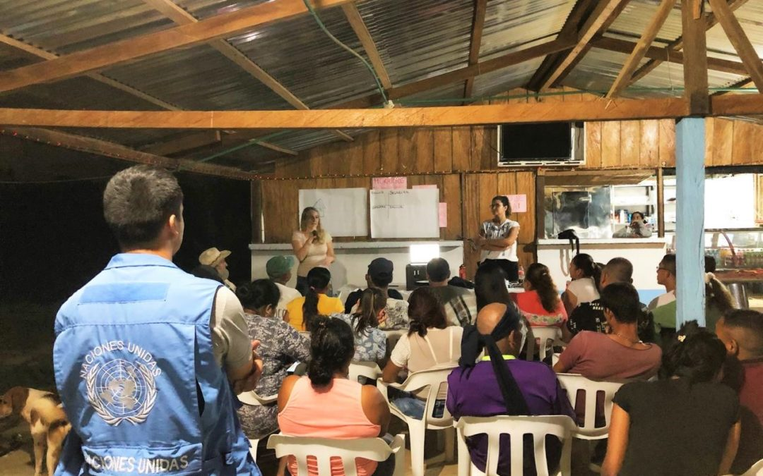 Workshop in Carrizal